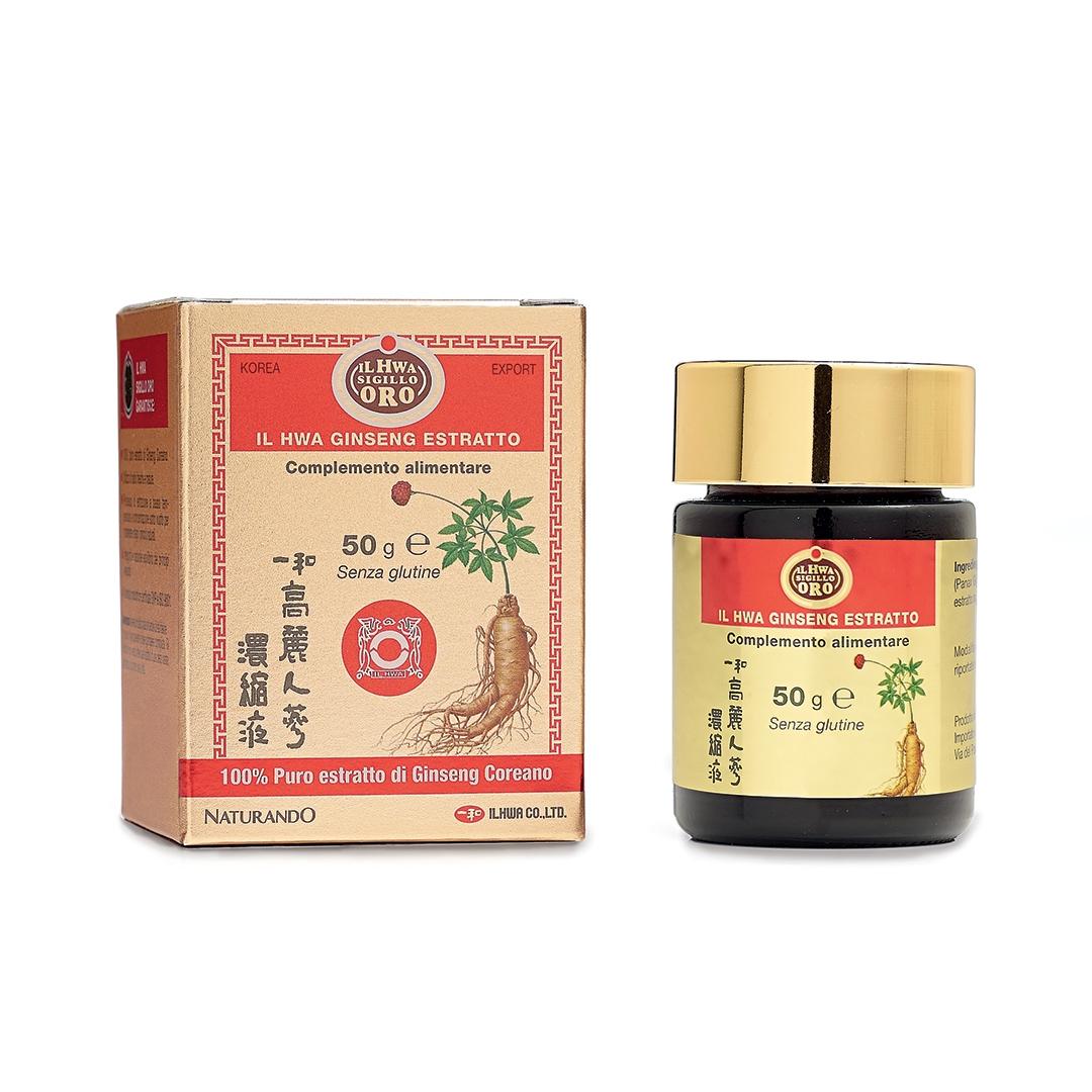 Ginseng Coreano Originale Il Hwa Sigillo Oro – estratto molle 50 g