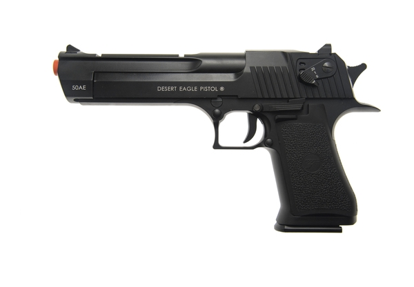 pistola a CO2 Desert eagle nera.