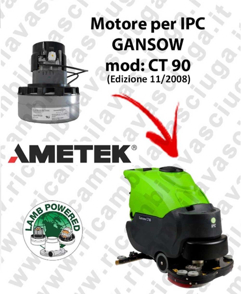 CT 90 BT 85 MOTORE LAMB AMETEK di aspirazione per lavapavimenti IPC GANSOW (edizione dal 05/2012)