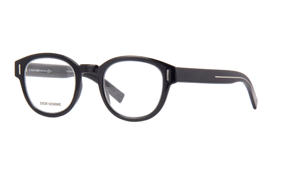 Christian Dior - Occhiale da Vista Uomo, DIOR FRACTION 03, Black  807  C47