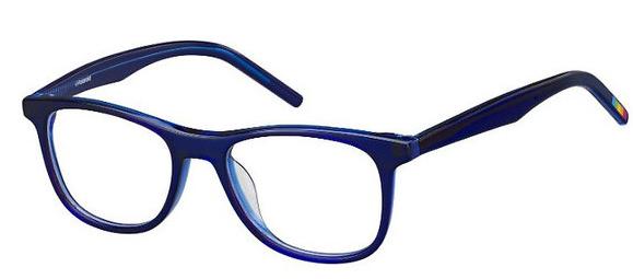 Polaroid - Occhiale da Vista Kids Unisex, Trublue Bluet  PLD  D801  GEG  C45