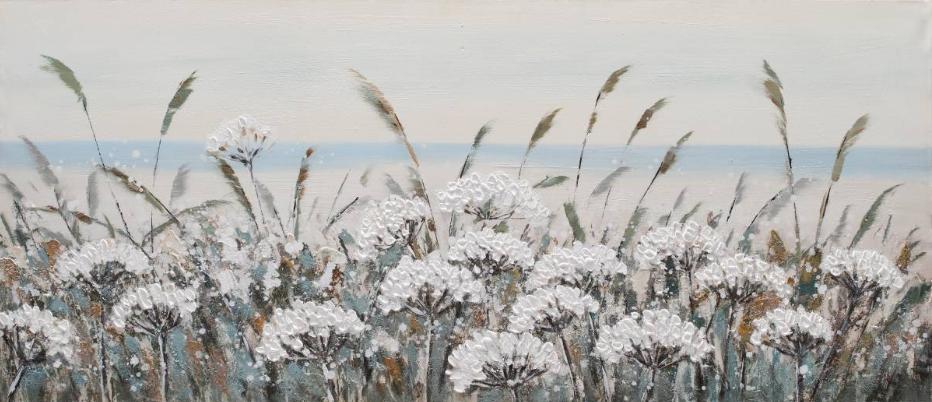 Dipinto a mano White Beach