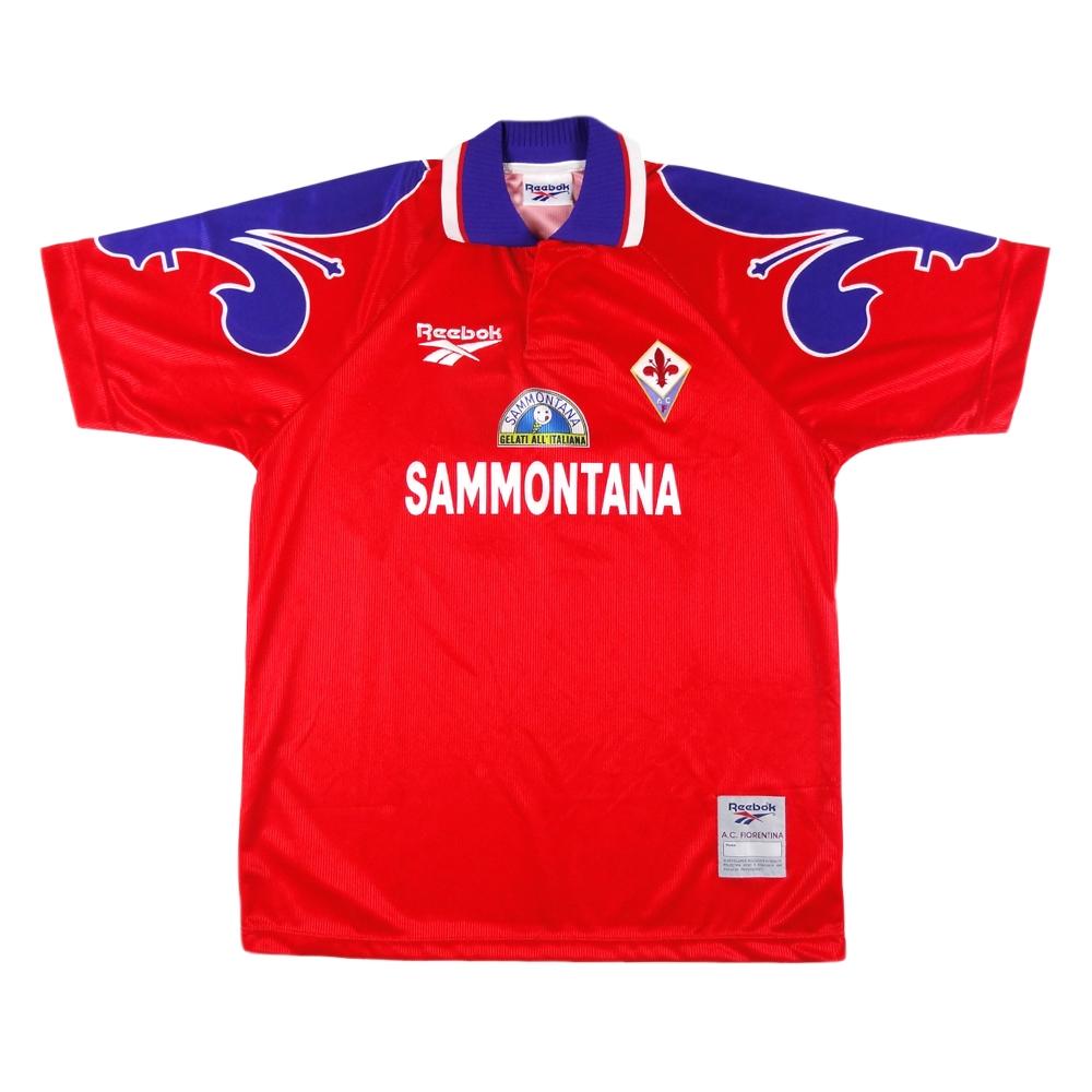 1995-96 Fiorentina Maglia Terza #11 Oliveira XL *Nuova