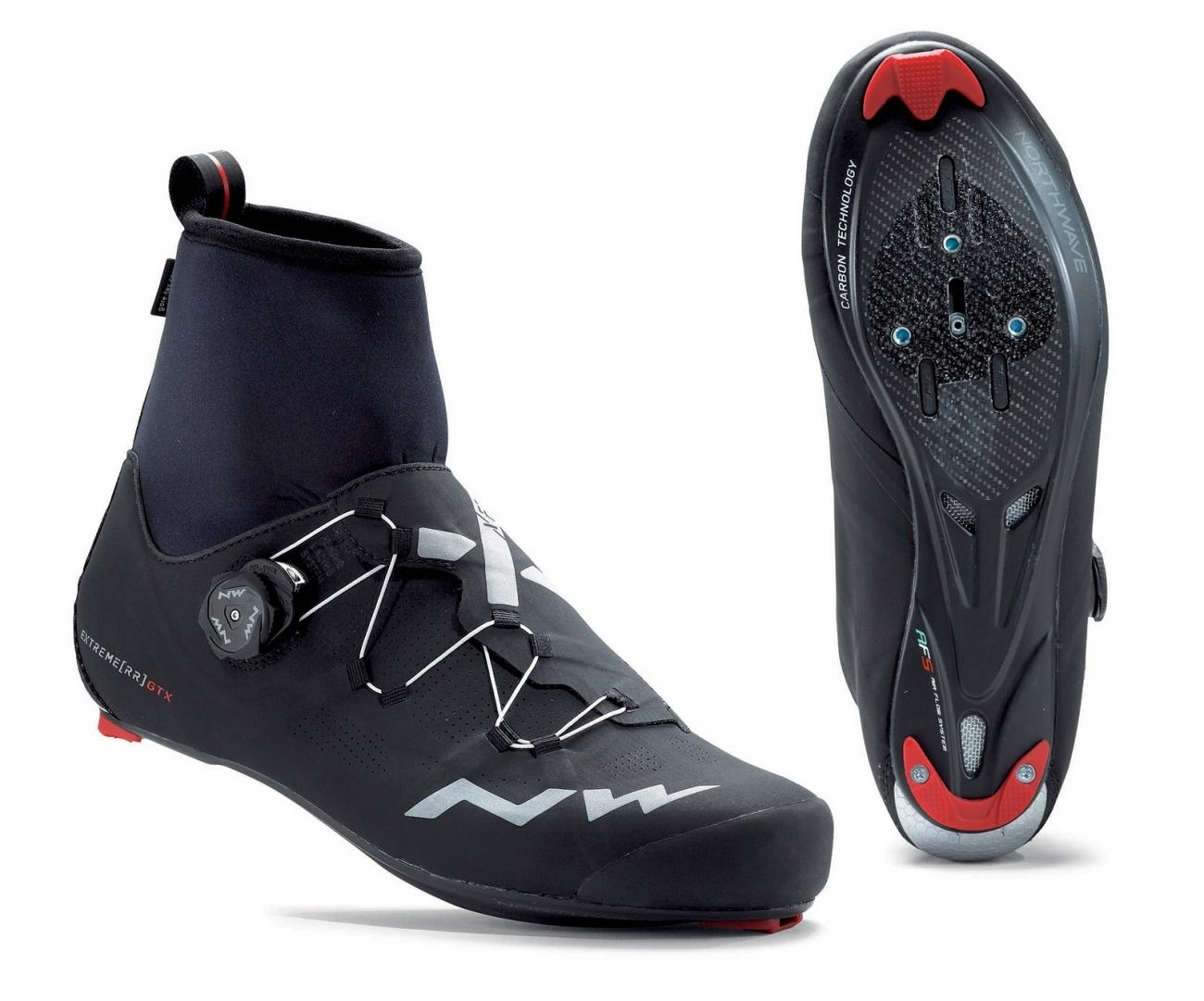NORTHWAVE Man winter road cycling shoes EXTREME RR GTX black