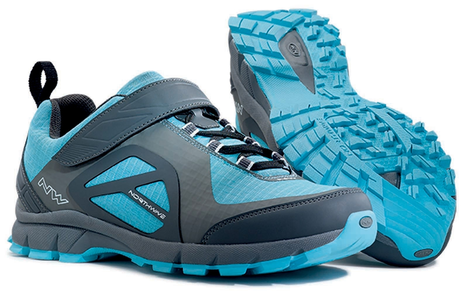 NORTHWAVE Woman MTB all mountain shoes ESCAPE WOMAN EVO anthracite/blue