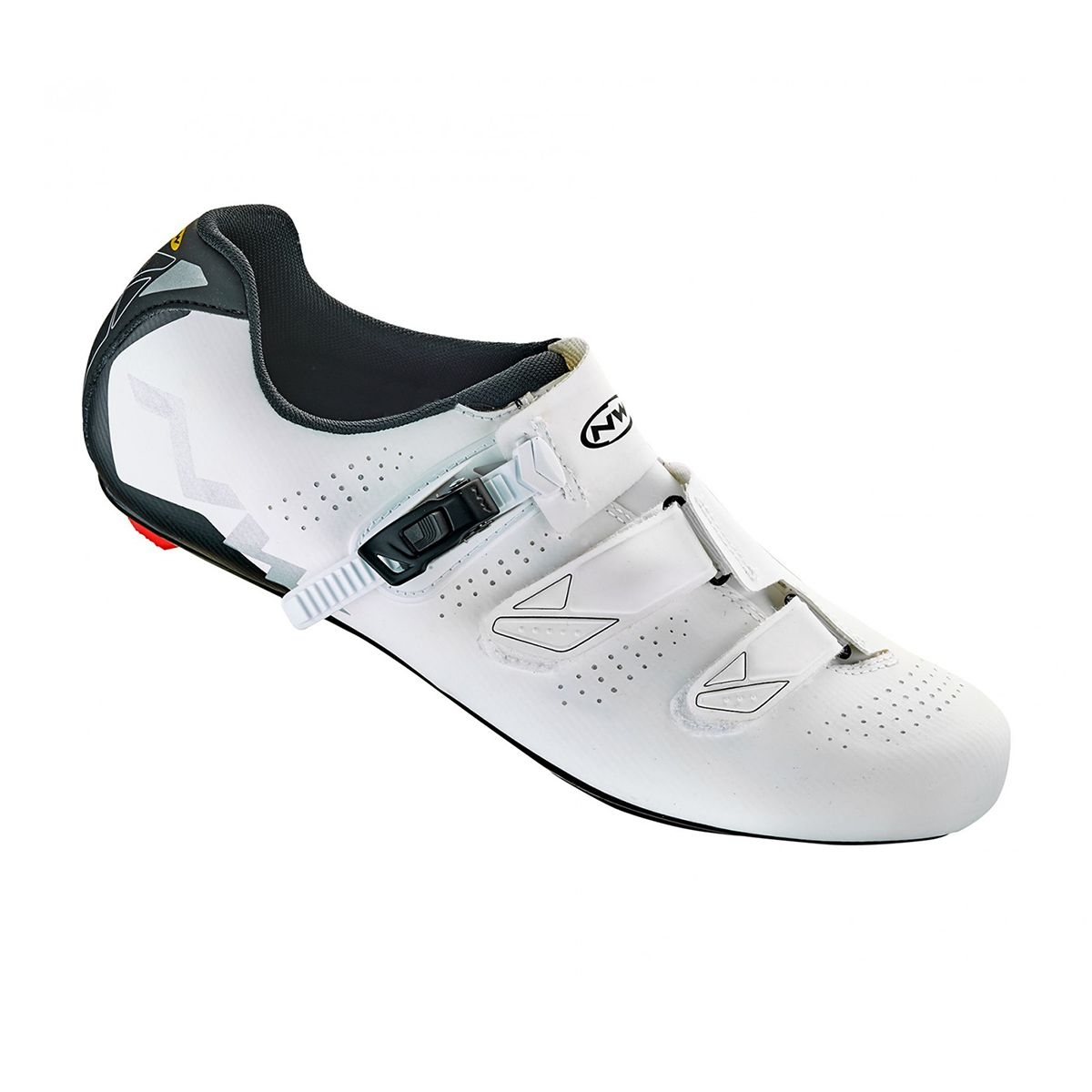 NORTHWAVE Man road cycling shoes PHANTOM 2 SRS white/anthracite