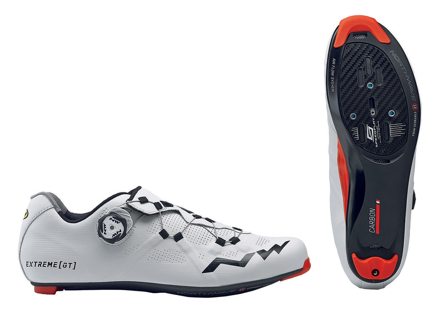 NORTHWAVE Man road cycling shoes EXTREME GT white/black