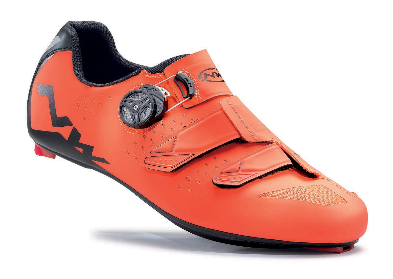 NORTHWAVE Man road cycling shoes PHANTOM CARBON lobster orange/black