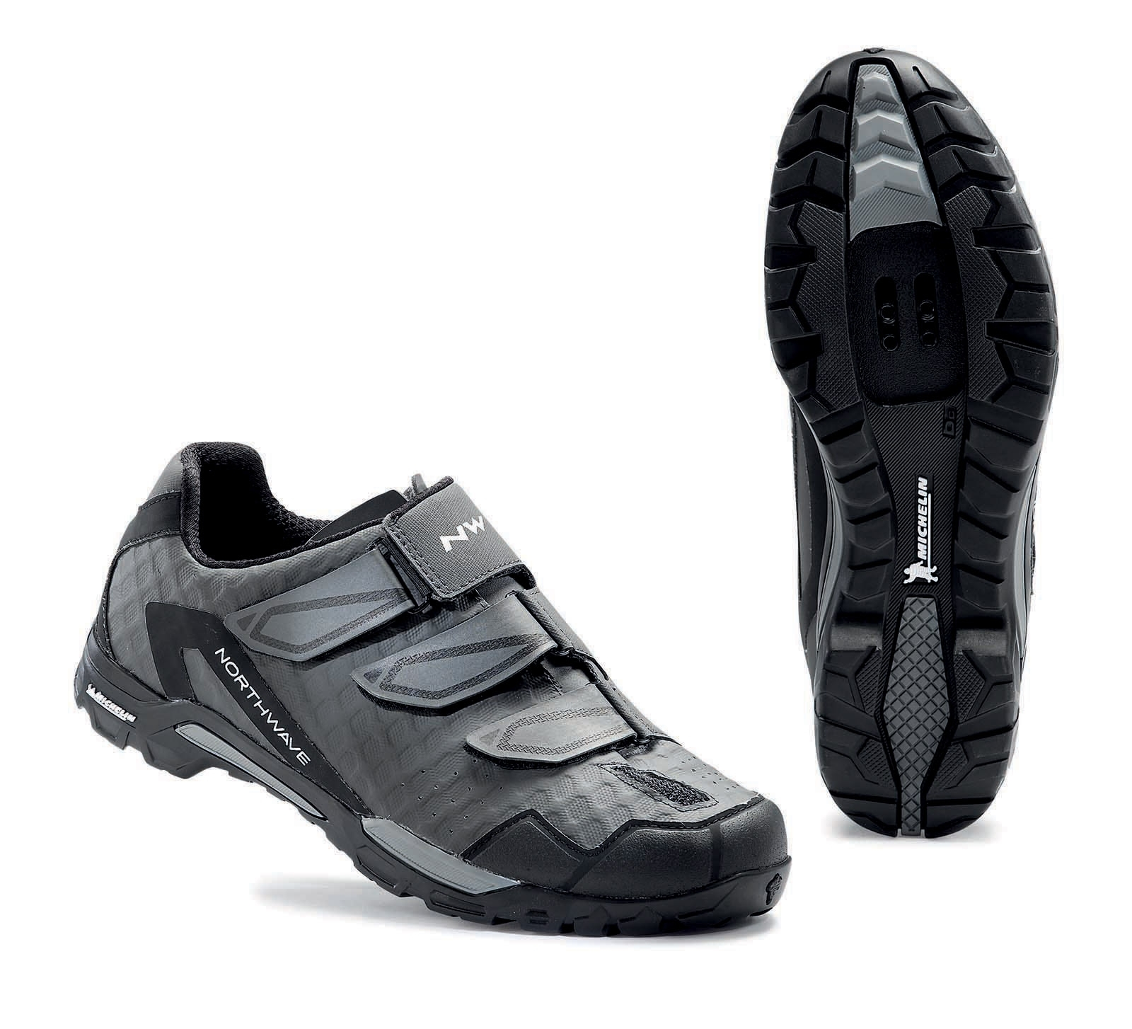 NORTHWAVE Man MTB trail shoes OUTCROSS anthracite grey/black