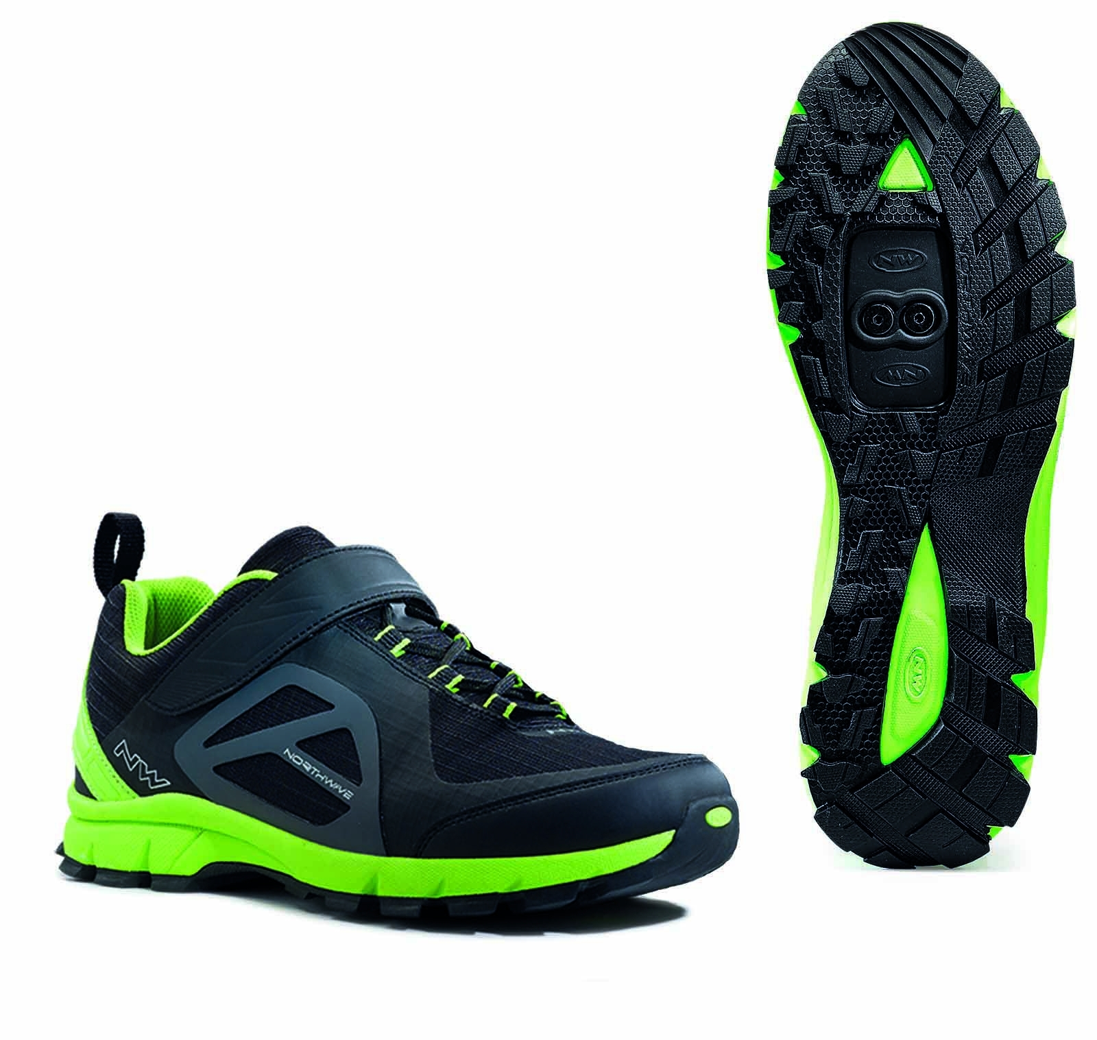 NORTHWAVE Man MTB all mountain shoes ESCAPE EVO black/green