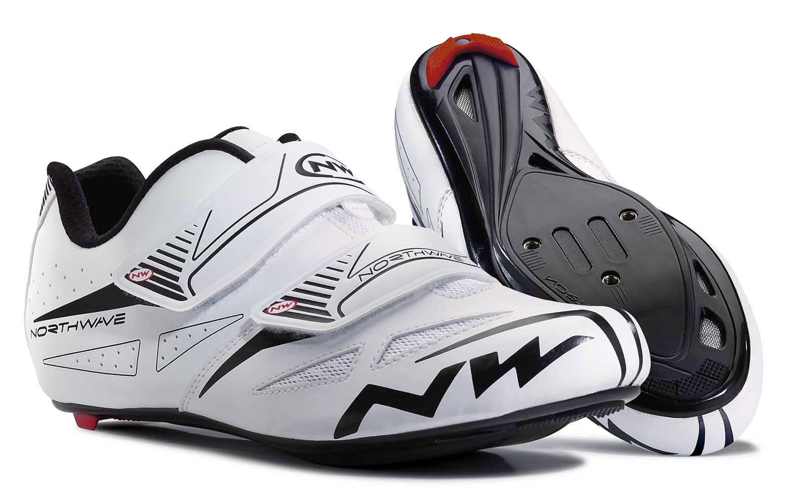 NORTHWAVE Man road cycling shoes JET EVO white