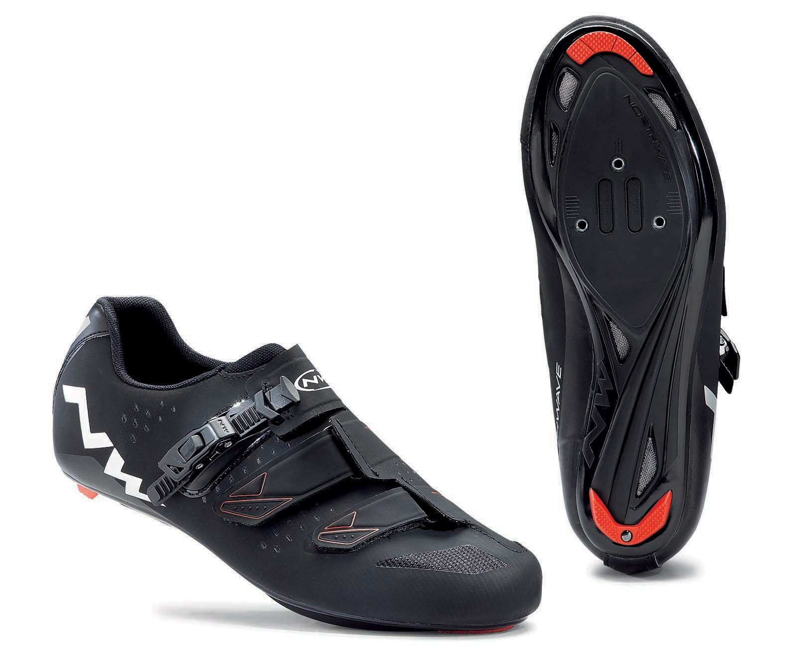 NORTHWAVE Man road cycling shoes PHANTOM SRS black