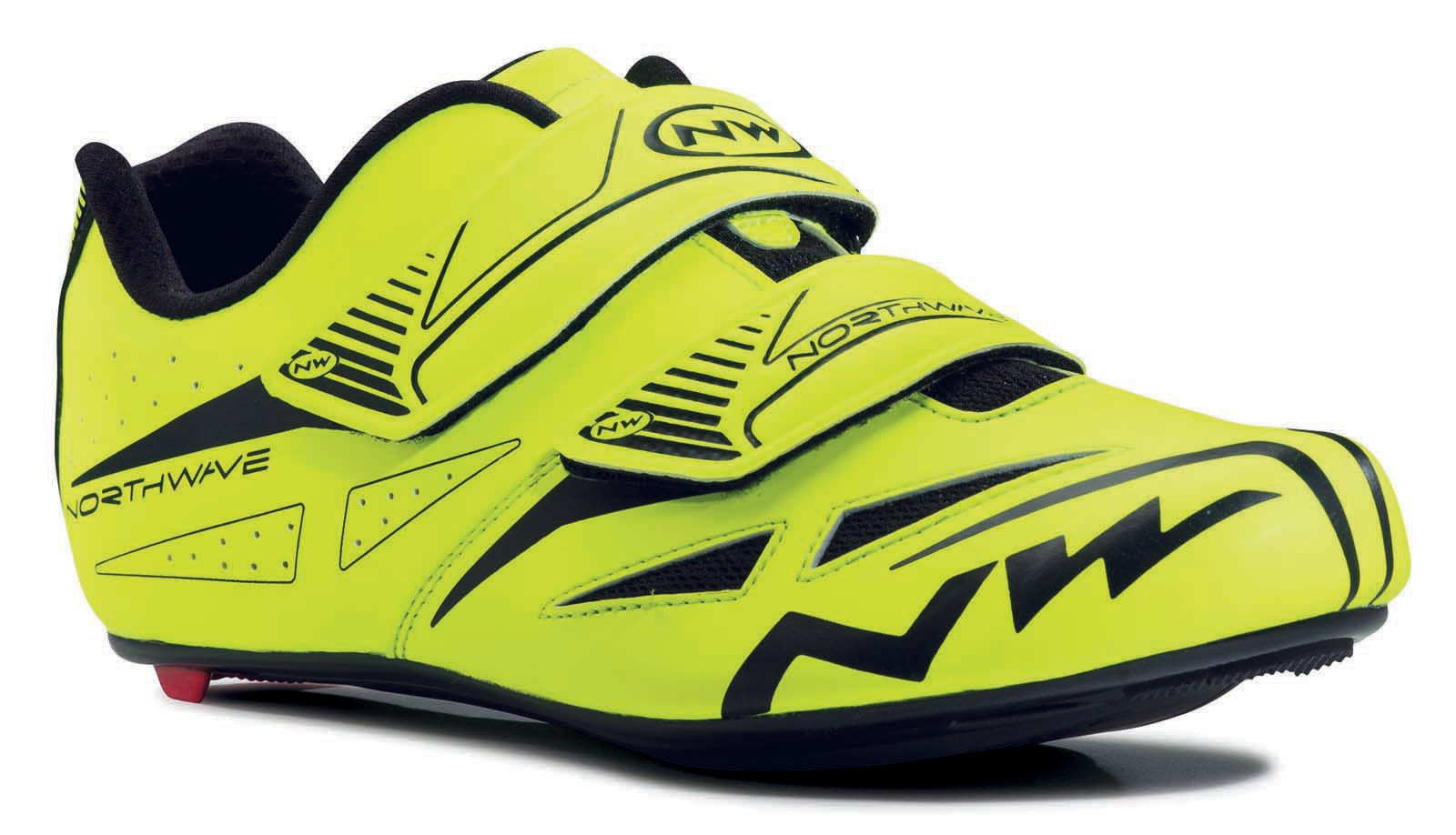 NORTHWAVE Man road cycling shoes JET EVO fluo yellow