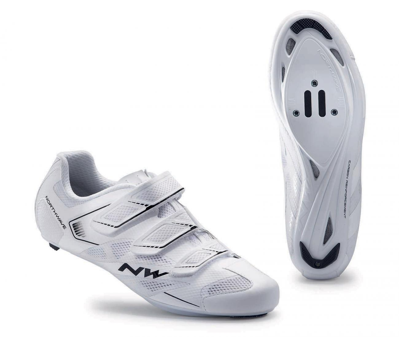 NORTHWAVE Man road cycling shoes SONIC 2 white
