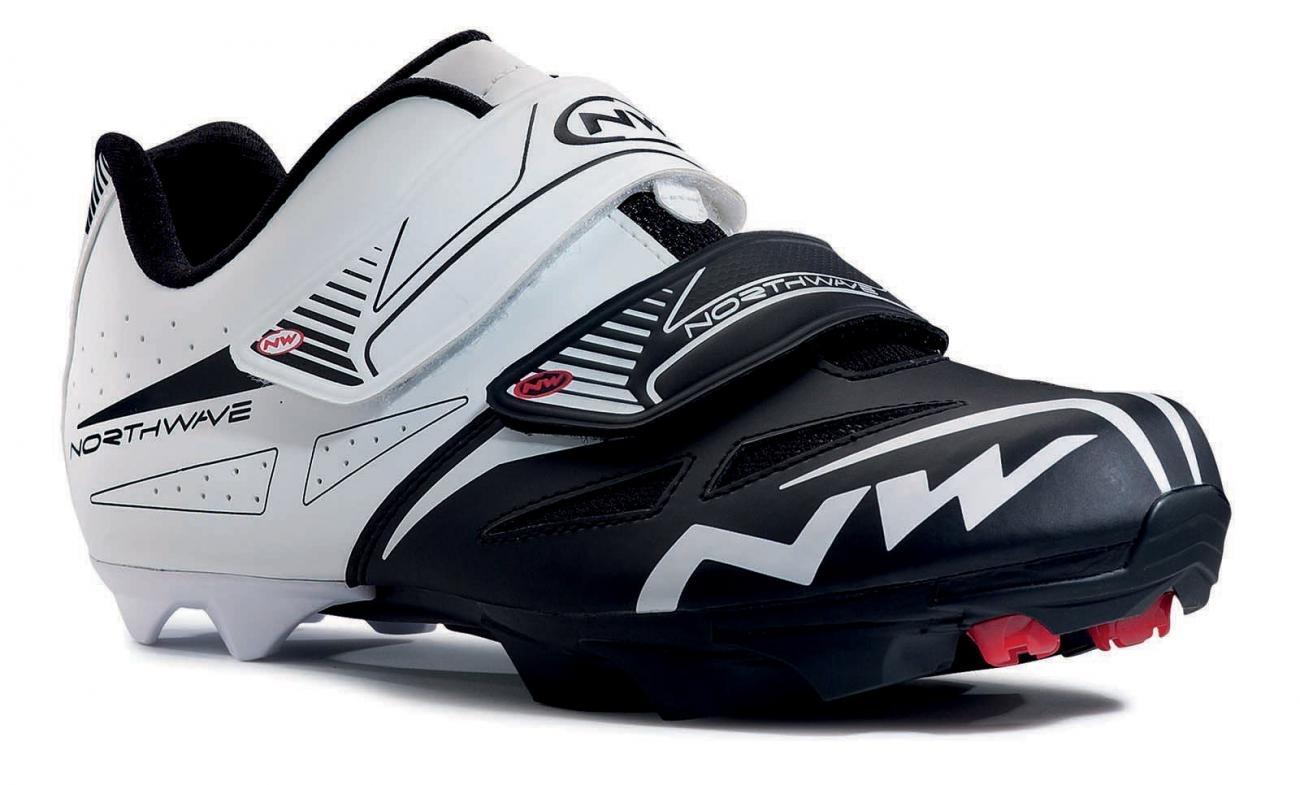 NORTHWAVE Man MTB shoes SPIKE EVO white/black