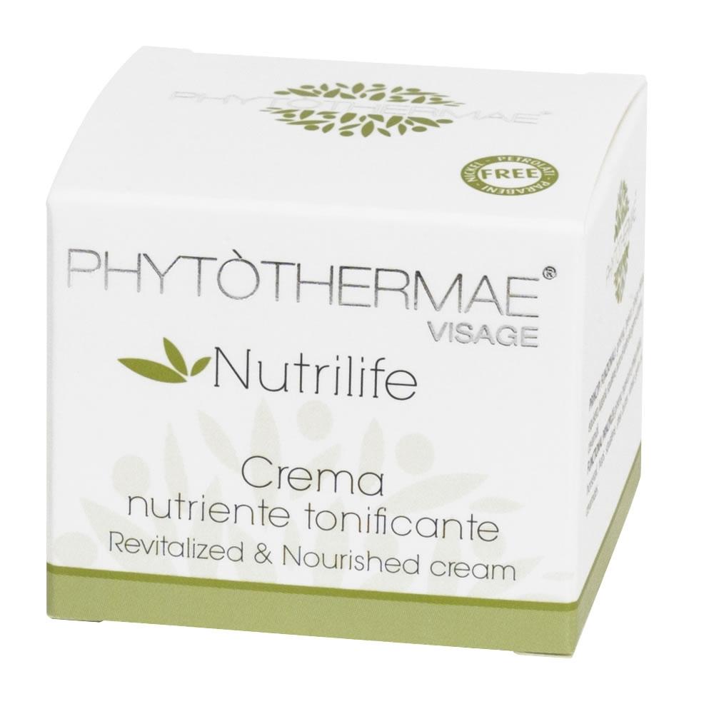 Crema Nutriente Tonificante Phytothermae 50 ml