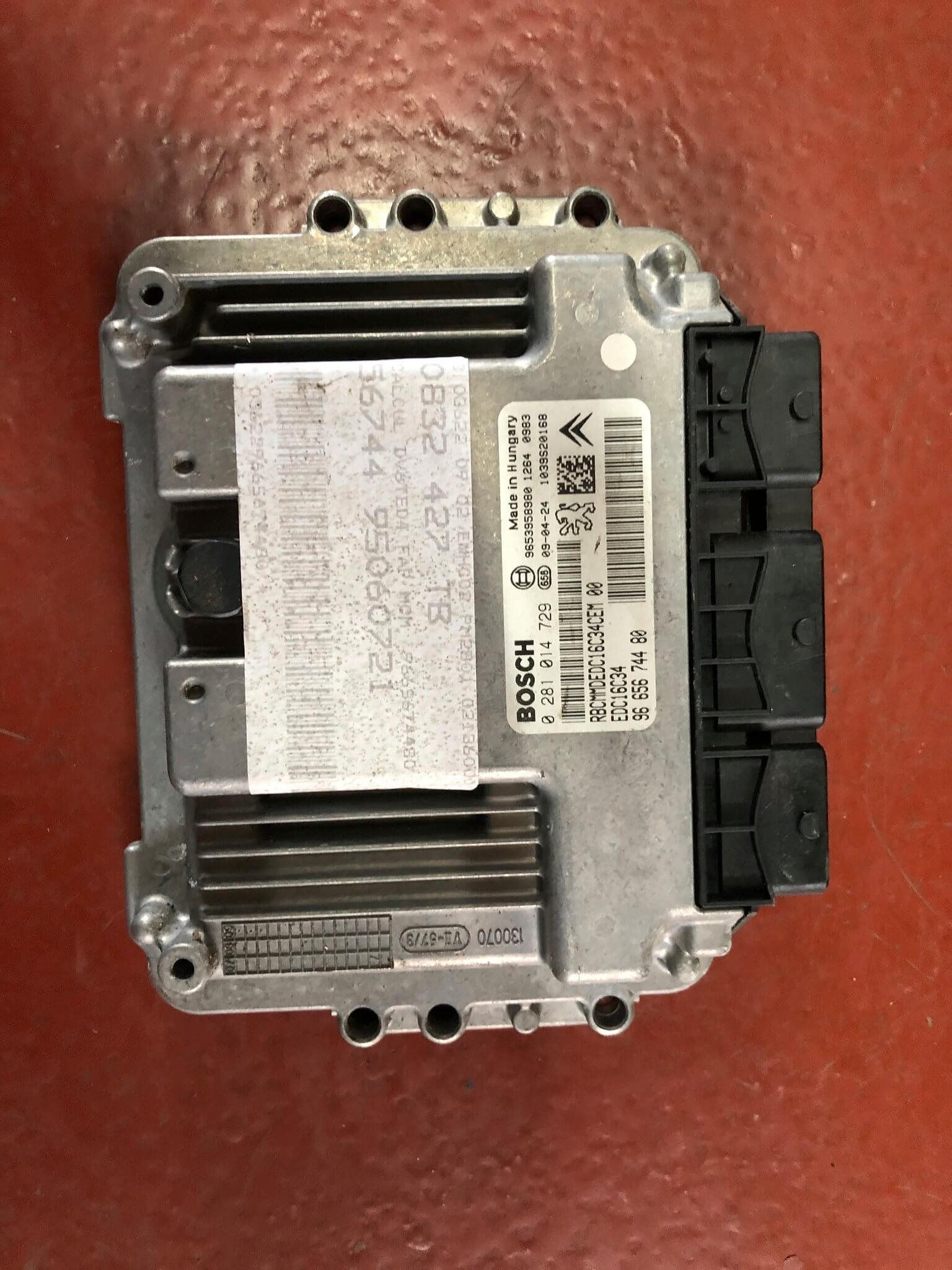 Centralina iniezione usata Peugeot 3008 1.6 HDI