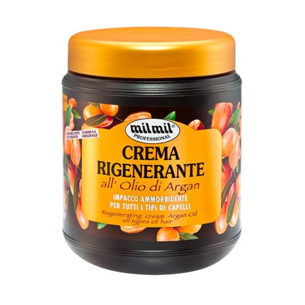 MIL MIL Crema rigenerante all'olio di Argan 1000 ml