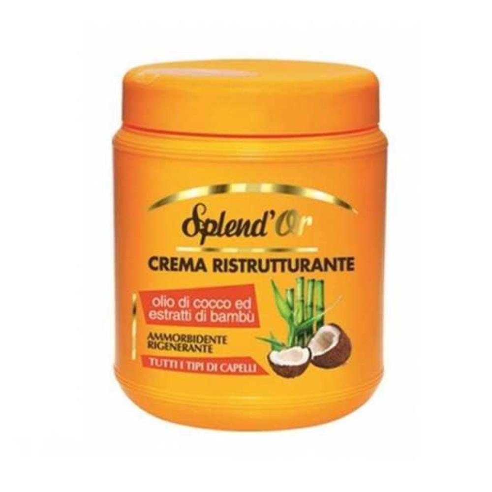 SPLEND'OR Crema ristrutturante olio di Cocco 1000 ml