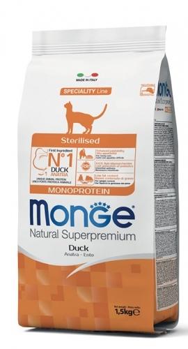 Natural Superpremium Monoprotein Gatto sterilizzato Anatra