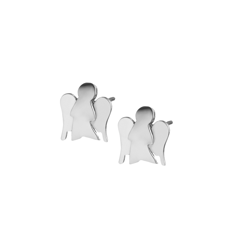 Orecchini Angeli in oro bianco Roberto Giannotti
