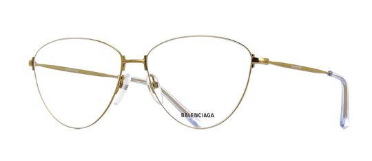 Balenciaga - Occhiale da Vista Donna, Gold  BB0034O 003  C58