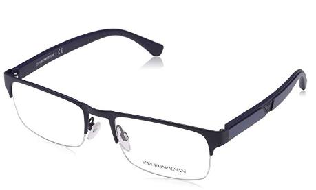 Emporio Armani - Occhiale da Vista Uomo, Matte Dark Blue  EA1072  3220  C55