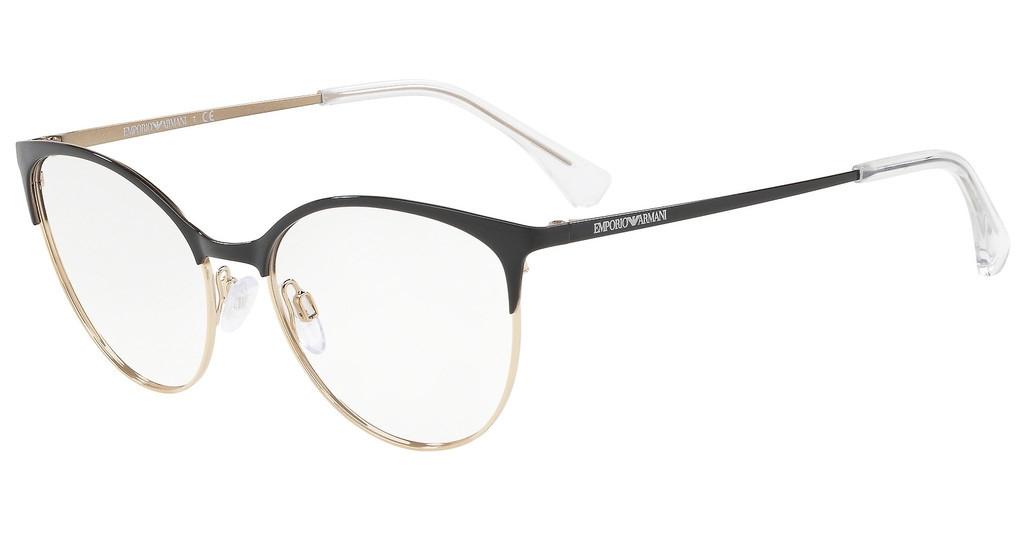 Emporio Armani - Occhiale da Vista Donna, Black  EA1087  3014  C54