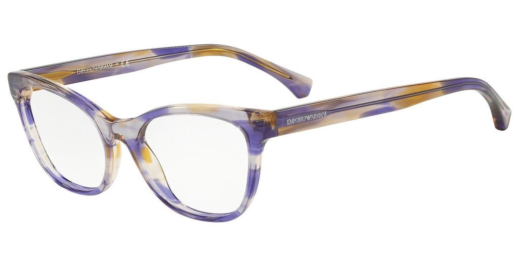 Emporio Armani - Occhiale da Vista Donna, Violet Havana  EA3142  5715  C53