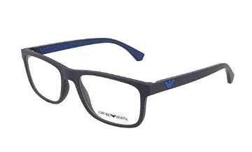 Emporio Armani - Occhiale da Vista Uomo, Blue  EA3147  5754  C55
