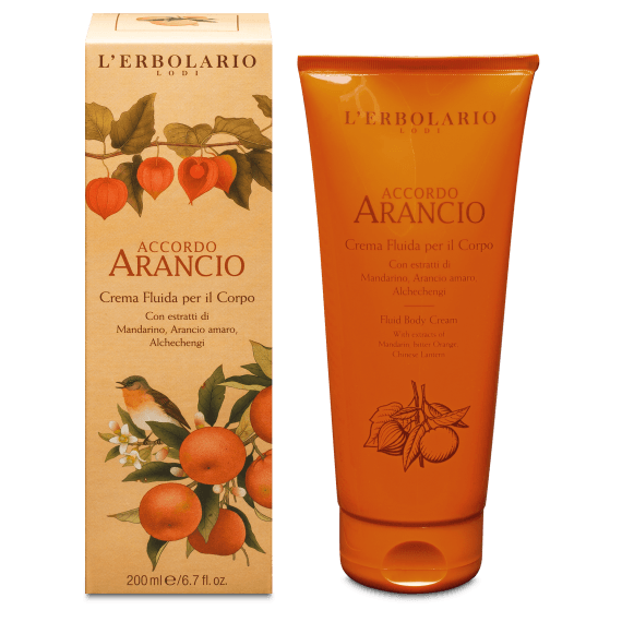 Accordo Arancio Crema Fluida per il Corpo 200 ml