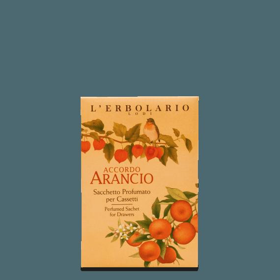 Accordo Arancio Sacchetto Profumato per Cassetti