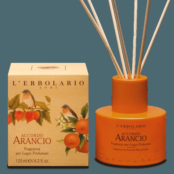 Fragranza per Legni Profumati Accordo Arancio L'Erbolario