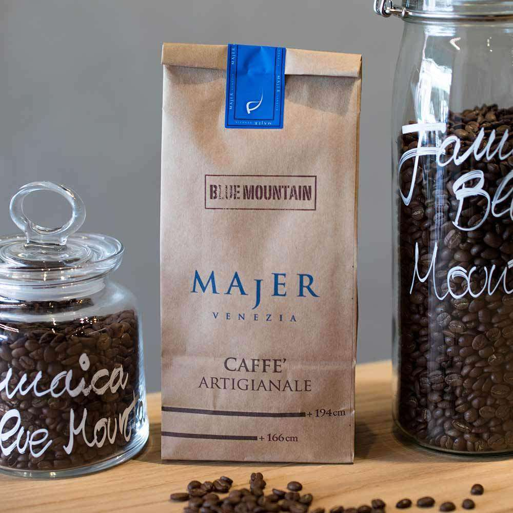 Caffè Majer in grani Blue Mountain  -  250gr
