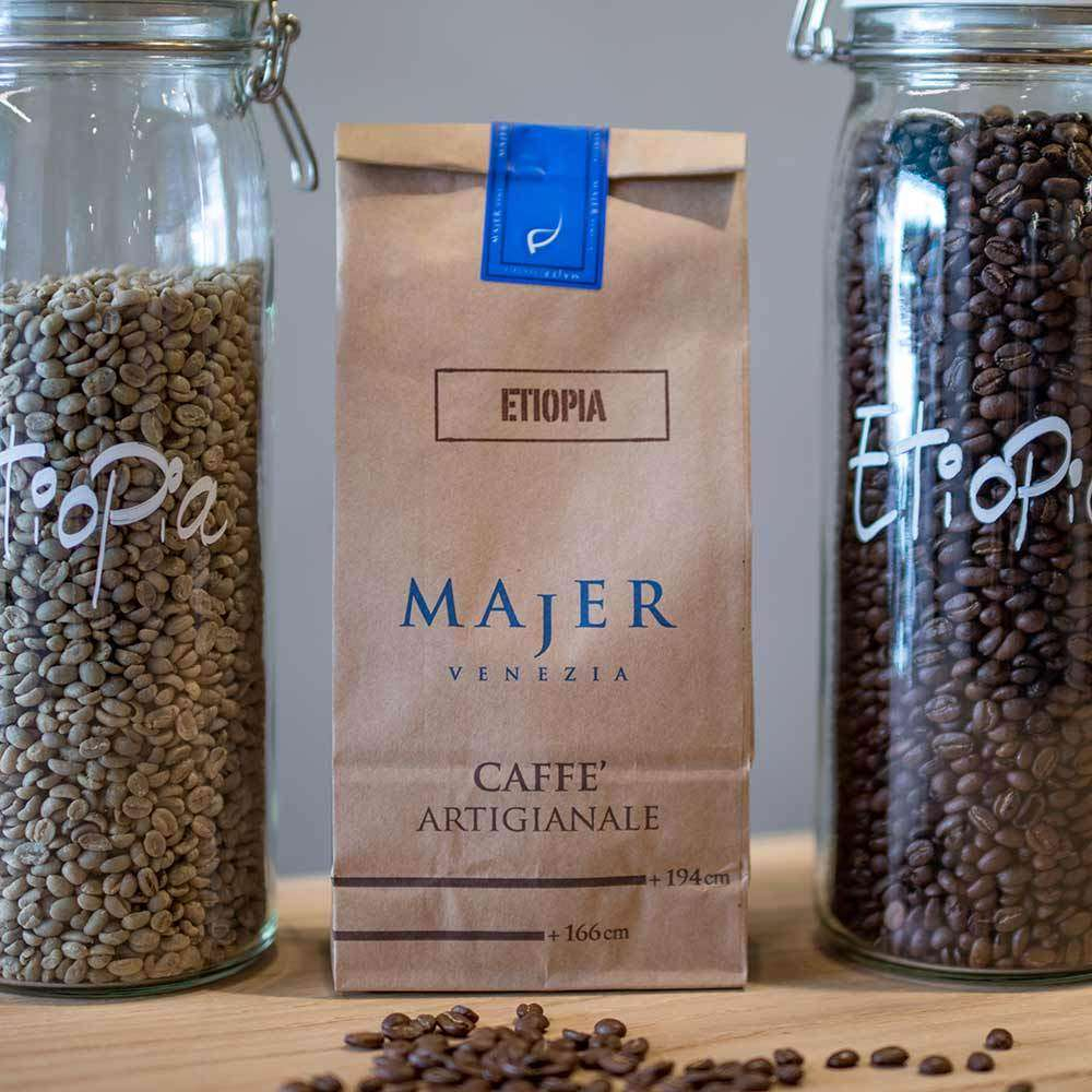 Caffè Majer in grani Etiopia  -  250gr