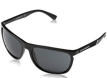 Emporio Armani - Occhiale da Sole Uomo, Black/Grey Shaded  EA4107  5017/87  C59