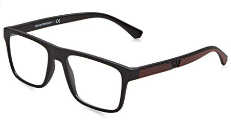 Emporio Armani - Occhiale da Vista Uomo, Dark Black/Red  EA4115  C54