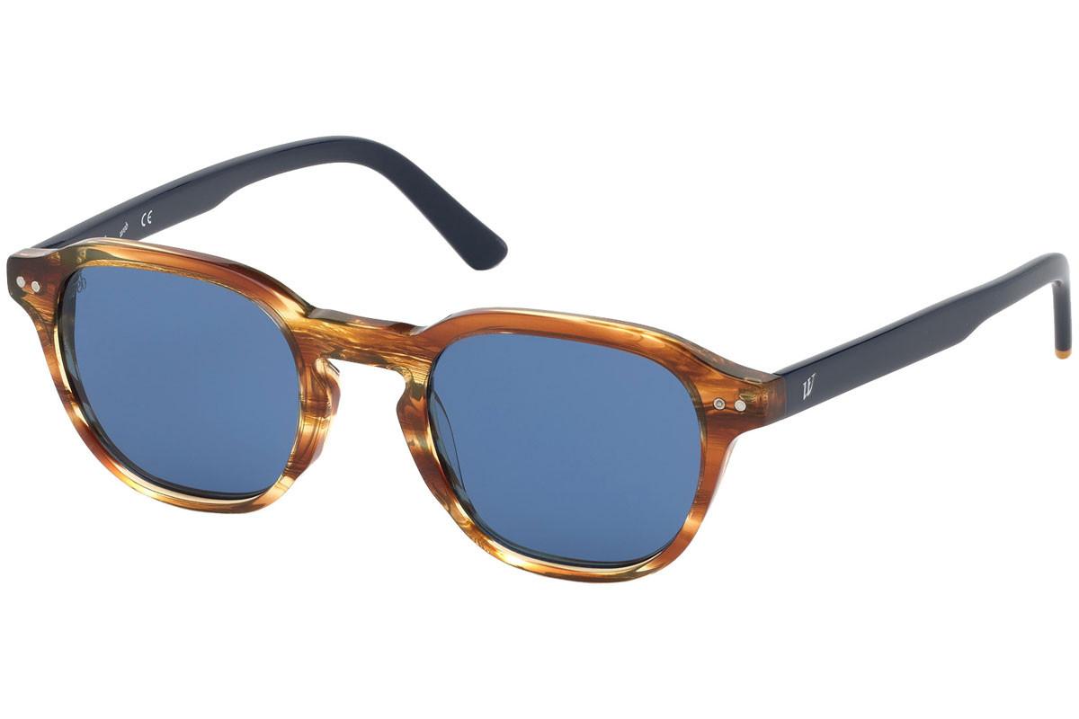 Web - Occhiale da Sole Uomo, Havana/Blue Gradient  WE0250  41V  C50