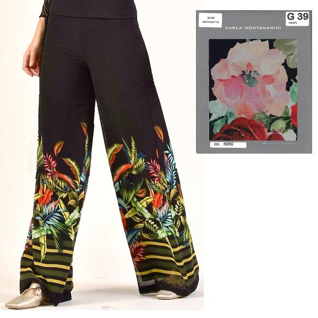 Pantalone con gamba svasata