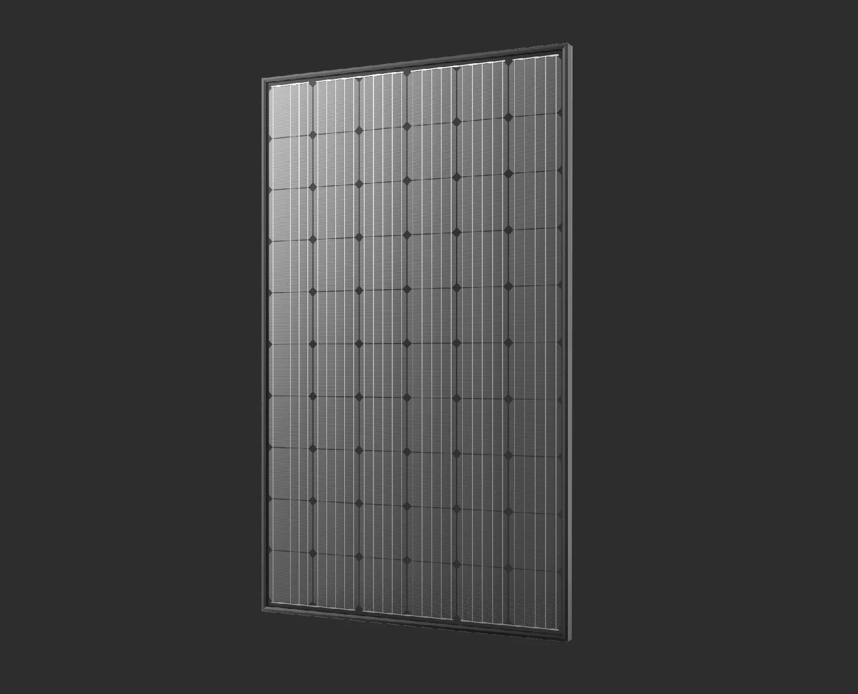 Attacco solare fotovoltaico , l'argento per una miglior rendimento nel tempo con garanzia trentennale , non si usano saldature in piombo e stagno tra le celle. Impianto 3,00kW  cornice total black :  € 6.500,00