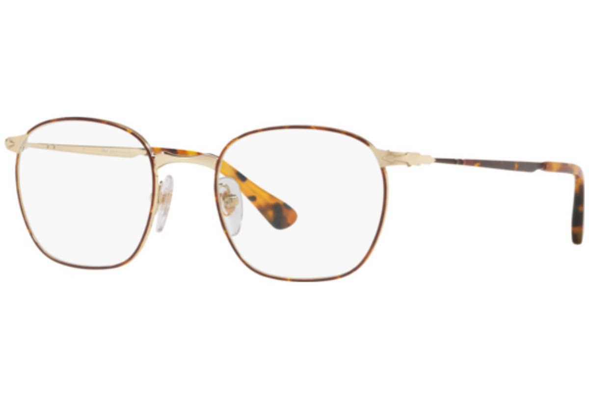 Persol - Occhiale da Vista Uomo, Havana Gold  PO2450  1075  C52