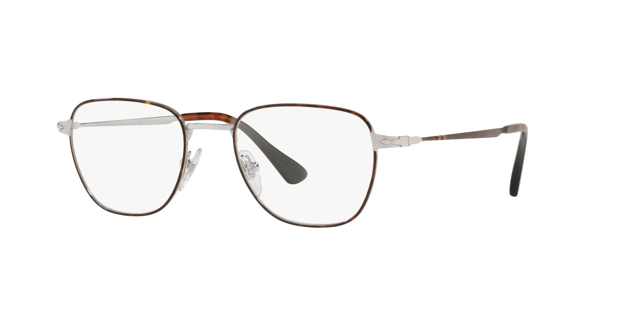 Persol - Occhiale da Vista Uomo, SARTORIA, Havana Silver  PO2447V  1082  C54
