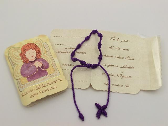 FINE SERIE 9 pezzi - Decina rosario in corda