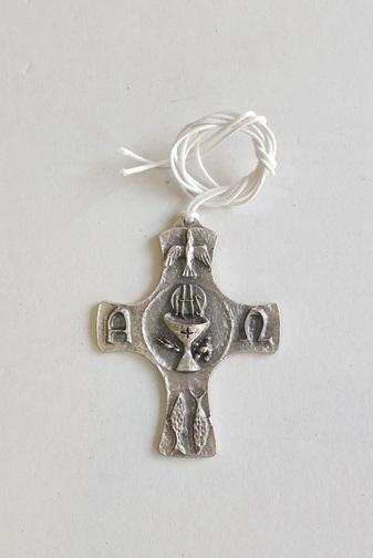 Croce in metallo Comunione
