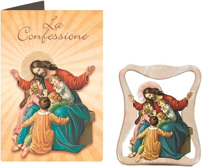 FINE SERIE 16 pezzi - Quadretto la confessione