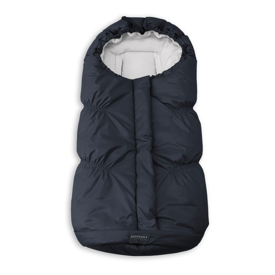 Sacco invernale per ovetto/carozzina Bamboom IGLOO MINI Midnight black