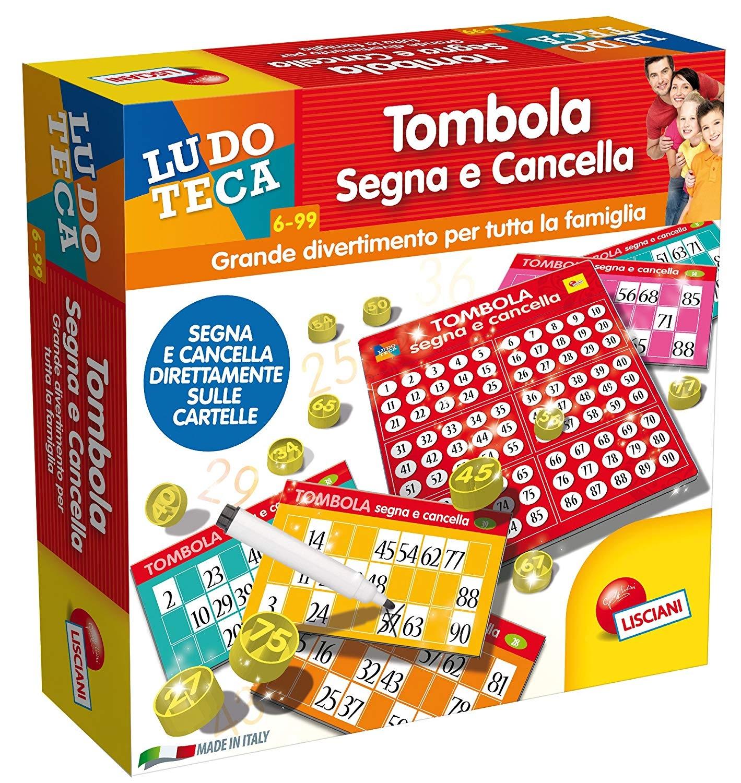 Ludoteca Tombola Segna E Cancella, Multicolore