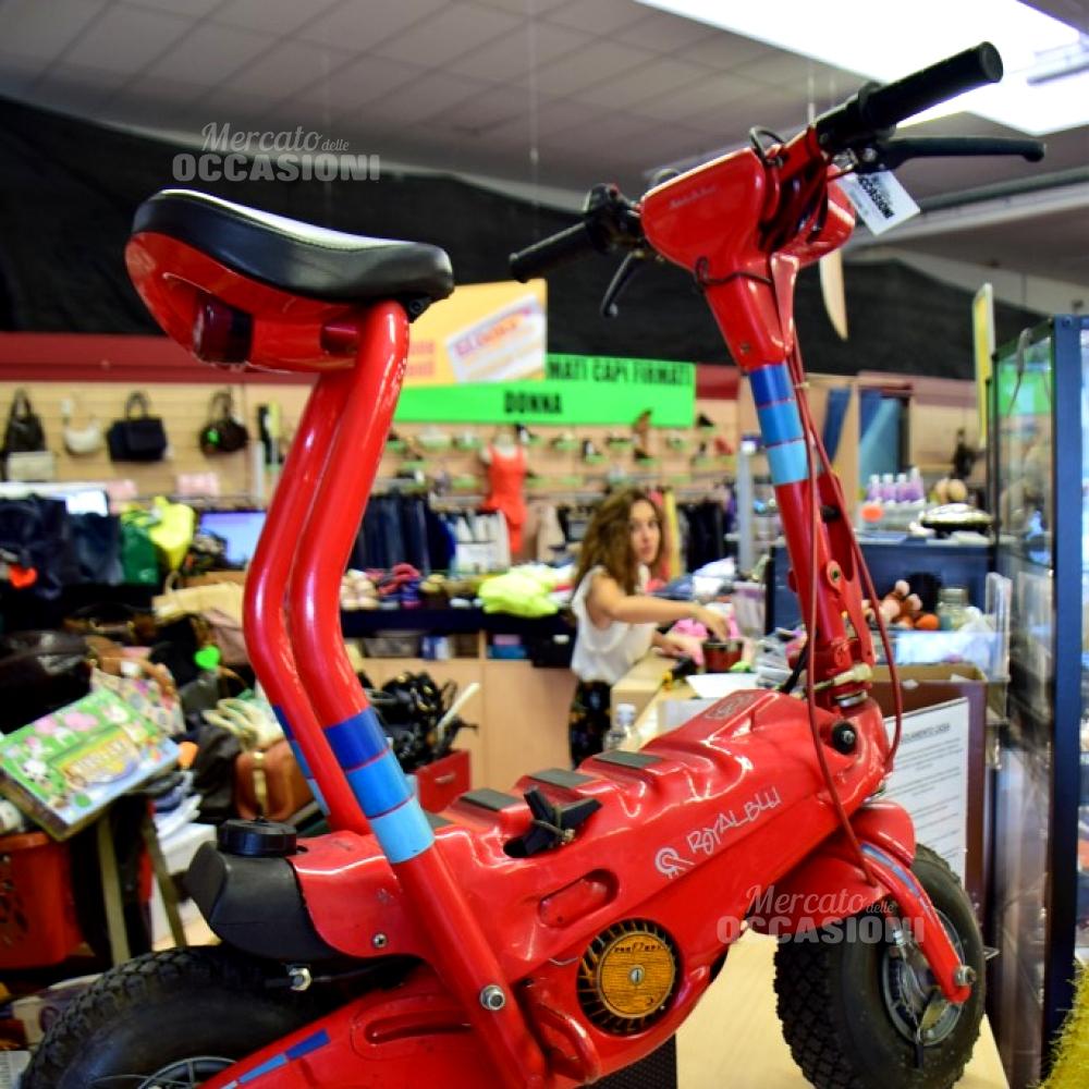 Motorino Pieghevole Rosso Firmato Boselli Unico Pezzo Raro, Cilindrata25 Cc