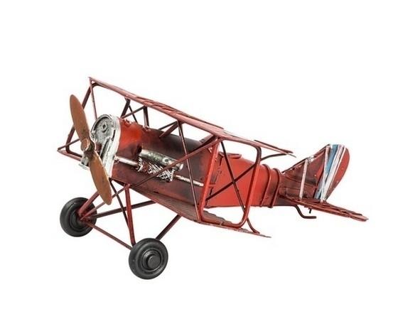 Modellino aereo rosso