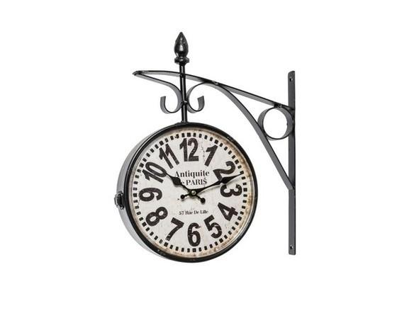 Orologio modello stazione nero